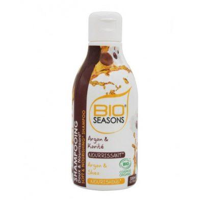 bio-seasons-shampooing-cheveux-secs-argan-et-karite-nourrissant-300ml