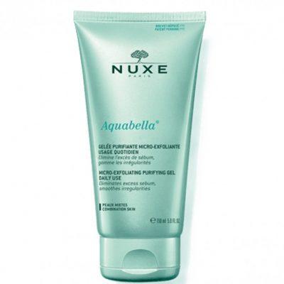 nuxe-aquabella-gelee-purifiante-micro-exfoliante-usage-quotidien-150ml