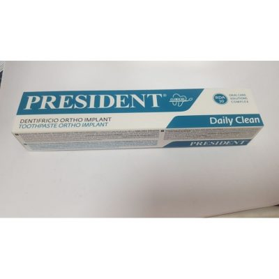 president-daily-clean-dentifrice-ortho-implant-75-ml