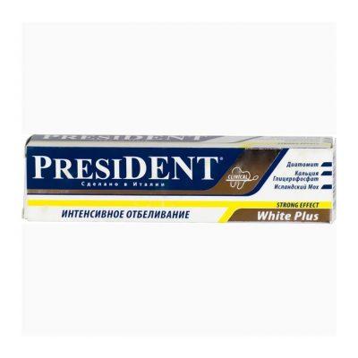 president-white-plus-dentifrice-de-30-ml