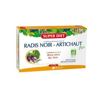 super-diet-radis-noir-artichaut-bio-20-ampoules